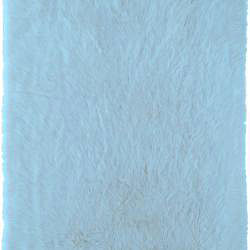 Meticulously Woven Himalaya Light Blue Shag Rug (5' x 8') - Thumbnail 1