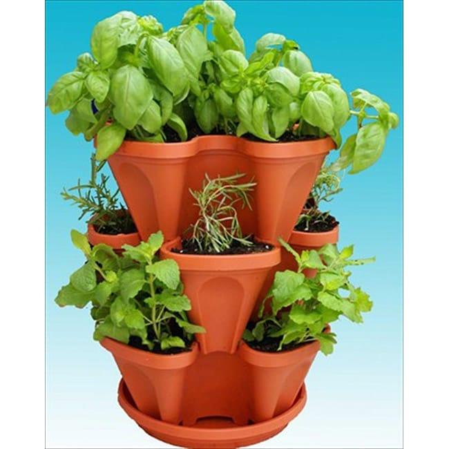 Living Whole Foods Mini Garden Stacker