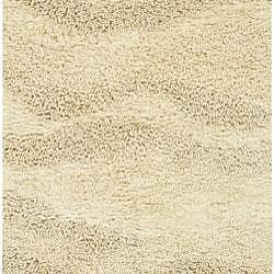 Hand-woven Tigris New Zealand Wool Rug (4' x 10') - Thumbnail 1