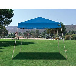 Cirrus 2 Blue Polyester Canopy Tent Kit with Steel Frame (12' x 12') - Thumbnail 1