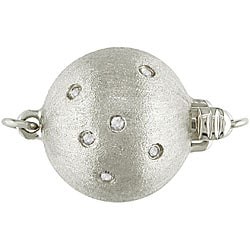 Miadora 14k Gold Black Tahitian Pearl/ Diamond Necklace (11-15 mm) - Thumbnail 1