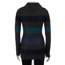La Classe Couture Women's Marled V-neck Sweater - Thumbnail 1