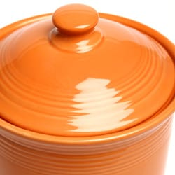 Fiesta Tangerine 3-quart Large Canister