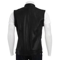 Biker's Dream Apparel Men's Leather Vest