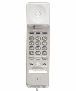 GE 2-9710 Spacesaver Telephone Clock Radio (Refurbished)