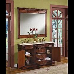 Silkroad Exclusive Saratoga Double-sink Bathroom Vanity