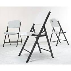 Lifetime Granite Folding Chairs (Pack of 4) - Thumbnail 1