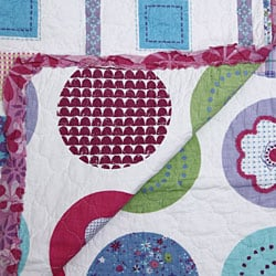 Snapdragon Decorative Quilted Throw - Thumbnail 1