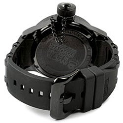 Invicta Men's Russian Diver QTZ Black Rubber Strap Watch - Thumbnail 1
