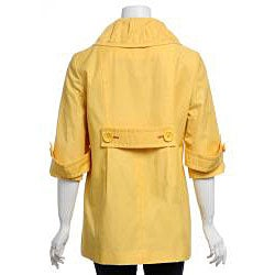 Larry Levine Women's Water-resistant Swing Jacket