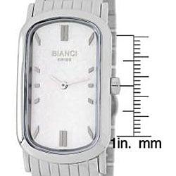 Roberto Bianci Men's Oblong Stainless Steel Watch