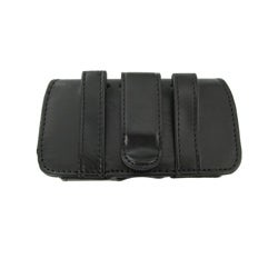 BasAcc Horizontal Leather Case/ Headset for Palm Centro 690 - Thumbnail 1