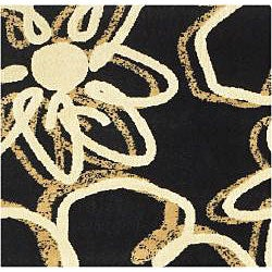 Admire Home Living Virginia Flora Rug (3'3 x 4'11)