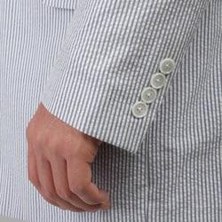 Haspel Men's 'New Orleans' Cotton Seersucker Suit