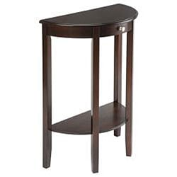 Bay Shore Collection Half Moon/ Round Hall Table