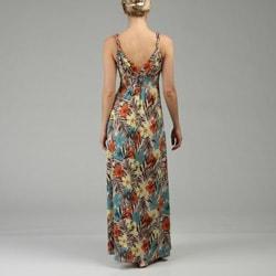 Max & Cleo Womens Twisted Strap Maxi Dress