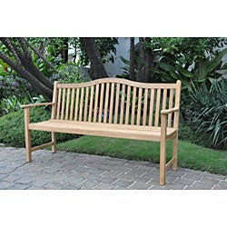 Cottage Teak 5-foot Bench - Thumbnail 1
