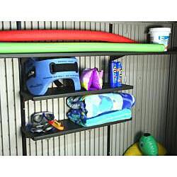Lifetime Indoor/ Outdoor Storage Closet (8' x 2.5') - Thumbnail 1