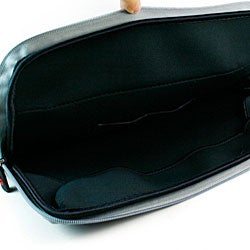 Kroo Black 12-inch Laptop Sleeve