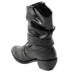 Liliana by Adi Women's Pointed Toe Western Boots - Thumbnail 1