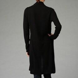 Press Women's Black Long Sleeve Duster