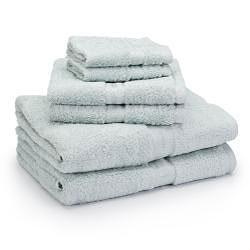 Laura Ashley 600-gram 6-piece Towel Set - Thumbnail 1