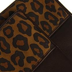 Portolano Women's Nappa Leather Animal Print Gloves - Thumbnail 1