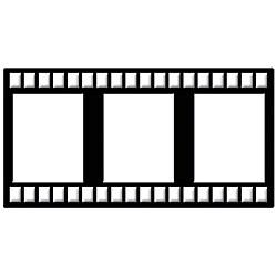 Spellbinders Cut and Emboss 'Film Strip' Die Cuts