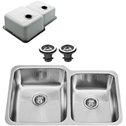 Vigo Undermount 32-inch Stainless Steel Kitchen Sink and Faucet