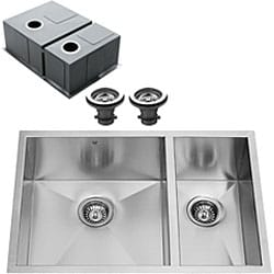 VIGO Undermount 29-inch Stainless Steel Kitchen Sink and Single-hole Faucet