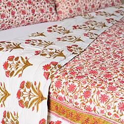 Andhera Patta Queen Size 3-piece Comforter Set (India) - Thumbnail 1