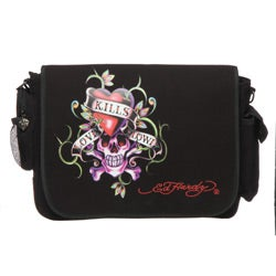 a5b5483a5f7d ... Messenger Bag  Thumbnail Ed Hardy   x27 Leo  x27  Love Kills Slowly ...