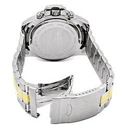 I by Invicta Men's Chronograph Two-tone Stainless Steel Watch - Thumbnail 1