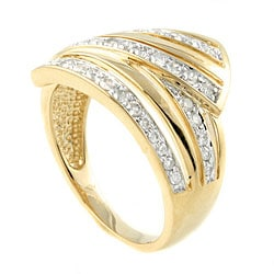 Beverly Hills Charm 14k Yellow Gold 1/2ct TDW Diamond Ring (H-I, I1-I2) - Thumbnail 1