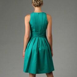 Calvin Klein Women's Shutter Pleat Dress - Thumbnail 1