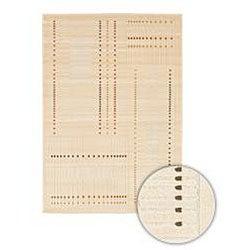 Artist's Loom Indoor Contemporary Geometric Rug (3'11 x 5'7) - Thumbnail 1