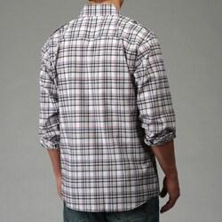 No Retreat Men's Plaid Woven Shirt - Thumbnail 1