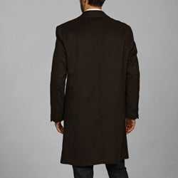Kenneth Cole New York Men's Wool/Cashmere Blend Coat