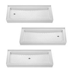 DreamLine Amazon 60x30-inch Tub Replacement Shower Tray - Thumbnail 1