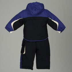 London Fog Toddler Boy's Colorblocked 2-Piece Snowsuit - Thumbnail 1