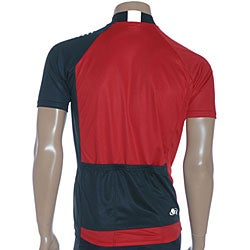 ETA Men's Short-sleeve Black/ White Cycling Jersey - Thumbnail 1