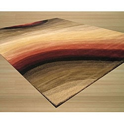 Hand-tufted Wool Contemporary Abstract Desertland Rug (5' x 8') - Thumbnail 1