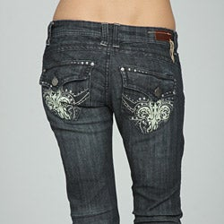 Standards & Practices Women's Embellished Bootcut Jeans