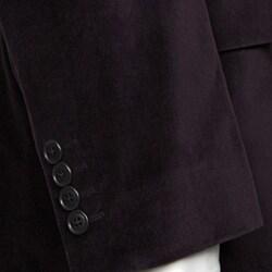 Adolfo Men's Purple Velvet Sportcoat