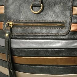 Je Veux Striped 'Tubular' Handbag - Thumbnail 1