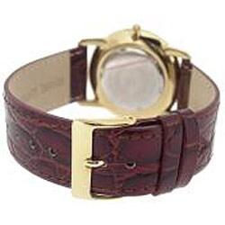 Le Chateau Men's Classica Diamond-accent Watch - Thumbnail 1