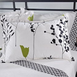 Perry Ellis Asian Lilly 7-piece Bed in a Bag with Sheet Set - Thumbnail 1