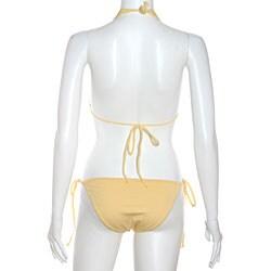Cot'n by Lucenti Swimwear Women's Gemada String Bikini - Thumbnail 1