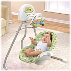Fisher-Price 2-in-1 Cradle 'n Swing in Scatterbug