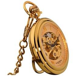 akribos xxiv men s mechanical gold pocket watch shipping akribos xxiv men s mechanical gold pocket watch akribos xxiv men s mechanical gold pocket